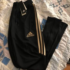 Adidas climacool joggers gold